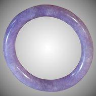 100 % Certified Natural, Lavender jadeite Bangle