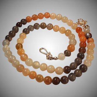 Quailty, Natural Moonstone Necklace,