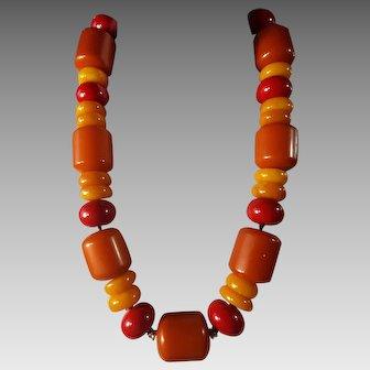 Genuine, Bakelite, Chunky Necklace