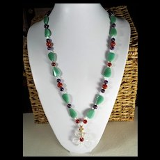 Artisan Statement Necklace, 28 Inches