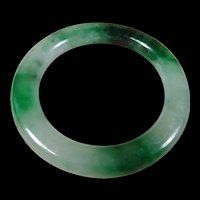 Natural, Heavy, Certified, Grade A Unprocessed Jadeite, 60. mm, Princess Style