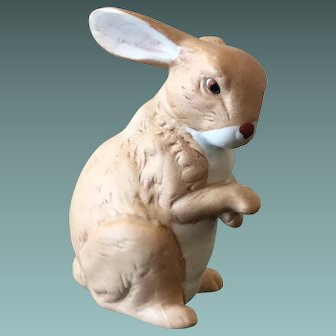 HOMCO Bisque Porcelain Rabbit