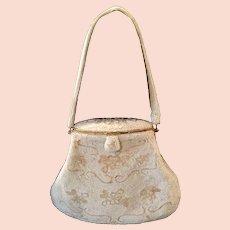 1940s Top-Frame Beaded Evening Bag