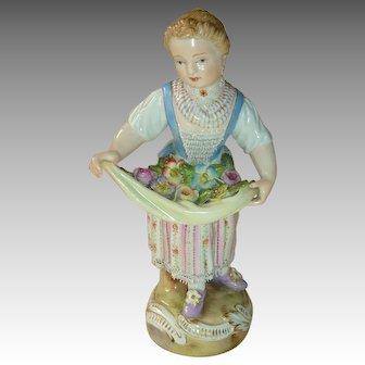 Meissen Flower Girl c. 1900