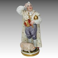B and G 'The Swineherd' Figurine