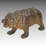 Early 20th C. Austrian or Vienna Bronze Brown Bear