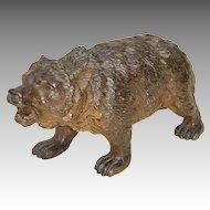Early 20th C. Austrian or Vienna Bronze Brown Bear