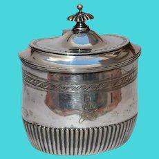 Original Silver 835 Sugar Bowl / Container