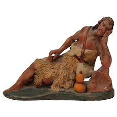 19th Century Neapolitan Creche Figure - Shepherd