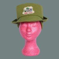 Vintage Wool Pebble Beach Hat
