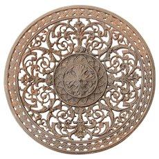 19th Century Berlin Iron Plate