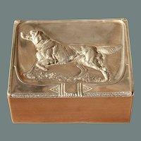 Art Nouveau WMF Cigarette Box designed under Albert Mayer - Silver plated Case from circa 1910