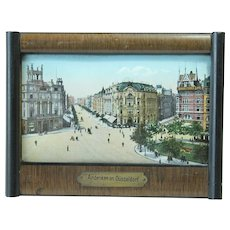 1910's Memory Picture of Düsseldorf - Grand Tour Souvenir from Germany