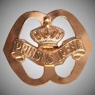 WW2 Original Cap badge of the Garderegiment Fuseliers Prinses Irene - Netherlands