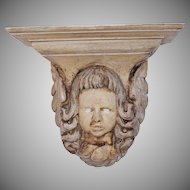 18th - 19th Century Putto / Angel / Cherub Console - Baroque Wood carved