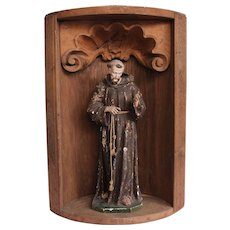 18th Century Baroque Altar from Germany - Wood Carved