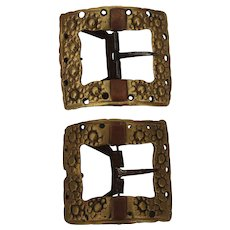 Pair of 18th Century European Shoe Buckles