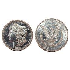 1878 Circulated Morgan Silver Dollar - S