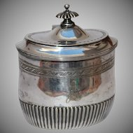 Original Silver .835 Sugar Bowl / Container