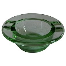 Green Fostoria Fairfax #2375 Individual Ashtray (s) 2-1/4""