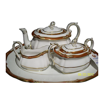 Spode Tea Set W/Tray