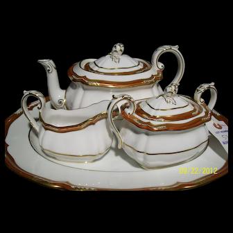 Spode Tea Set W/Tray