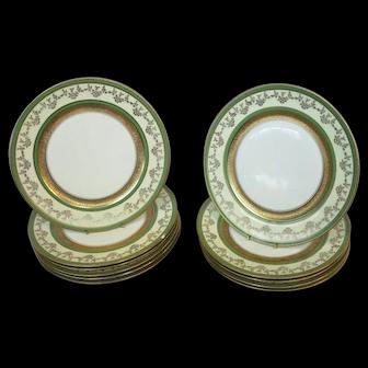 """Ovington 11"""" Porcelain Dinner Plates"""