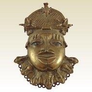 African Benin Hip Badge/Ornament. 19th Century