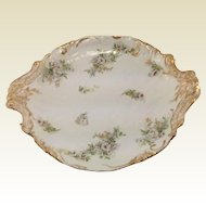 G D & Cie Limoges Charger. 19th Century, Rococo Style. Serving Platter.