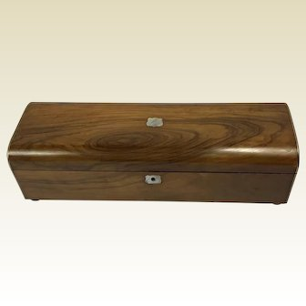 19th Century Olive Wood Box
