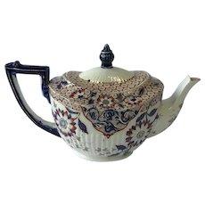 Rare Victorian Ridgways Teapot Agra Pattern  1885