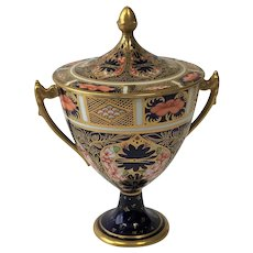 Royal Crown Derby Pedestal Urn