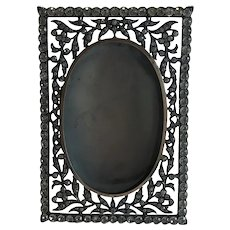Stunning Antique French Diamanté Photograph Frame. Circa 1910.