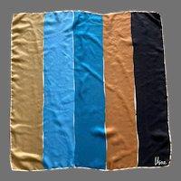 Vera 1970's Mod Design Silk Scarf