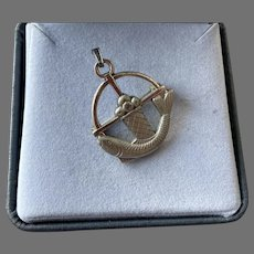 Sterling Creed Pin Pendant Fish Loaves Of Bread