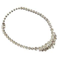 Eisenberg Ice Clear Austrian Crystal & Rhinestone Necklace