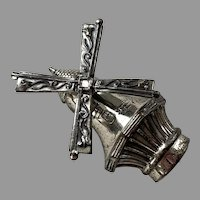 Lang Sterling Articulated Windmill Pin