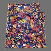 Vintage Japanese Motif Jersey Sewing Fabric 3+ Yards