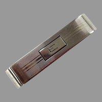 Art Deco Gorham Sterling Napkin Ring Mono E