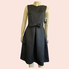 Little Black Dress By Trio New York Made In USA Size 4 NWT