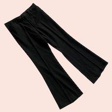 Vintage Gucci Dark Brown Wool Men's Pants
