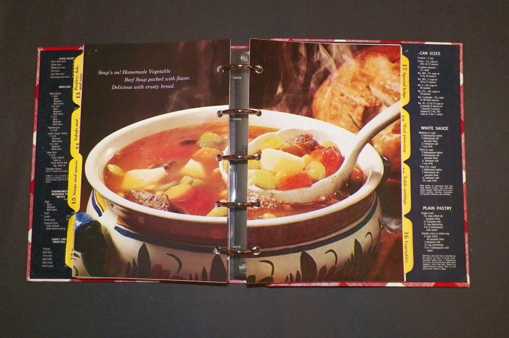 1968 better homes and gardens new cookbook klmantiques - Better homes and gardens cookbook 1968 ...