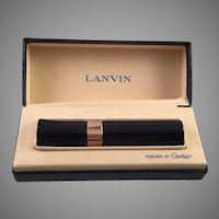 Vintage Cartier Designed Lanvin Perfume Mist In Presentation Box