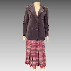 Vintage Nina Ricci Skirt and Jacket Suit