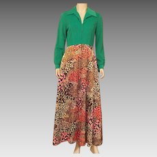 Vintage 1960's Evelyn Pearson Lounging Robe