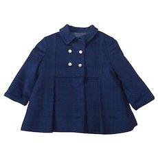 Vintage Children's Kute Kiddies Double Breasted Wool Coat