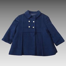 Vintage Children's Kute Kiddies Double Breasted Wool Coat