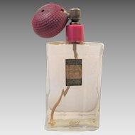Vintage 1940's Emeraude De Coty Perfume Bottle Atomizer