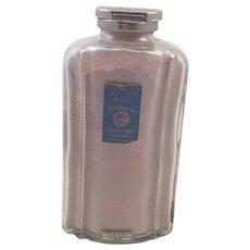 Vintage Roger and Gallet Talcum Powder Bottle
