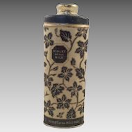 Vintage Talcum Powder Tin Violet Of The Nile By Palmolive